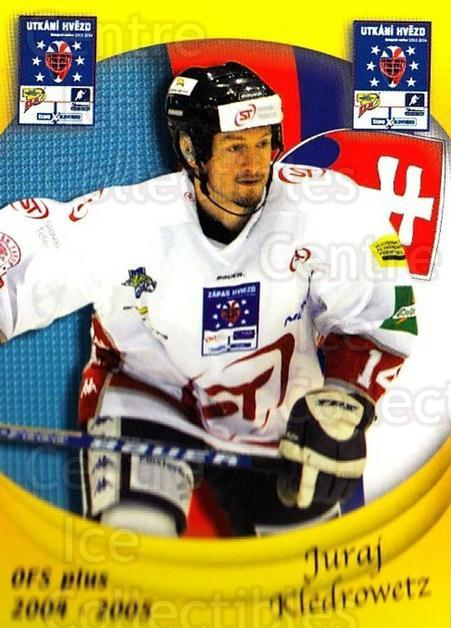 2004-05 Czech OFS Czech/Slovak AS Game #32 Juraj Kledrowetz<br/>5 In Stock - $2.00 each - <a href=https://centericecollectibles.foxycart.com/cart?name=2004-05%20Czech%20OFS%20Czech/Slovak%20AS%20Game%20%2332%20Juraj%20Kledrowet...&quantity_max=5&price=$2.00&code=165267 class=foxycart> Buy it now! </a>