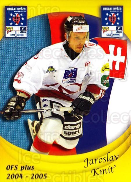 2004-05 Czech OFS Czech/Slovak AS Game #33 Jaroslav Kmit<br/>2 In Stock - $2.00 each - <a href=https://centericecollectibles.foxycart.com/cart?name=2004-05%20Czech%20OFS%20Czech/Slovak%20AS%20Game%20%2333%20Jaroslav%20Kmit...&quantity_max=2&price=$2.00&code=165268 class=foxycart> Buy it now! </a>