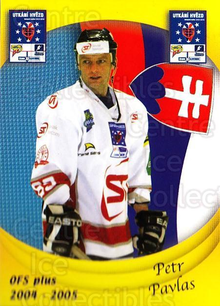 2004-05 Czech OFS Czech/Slovak AS Game #37 Petr Pavlas<br/>3 In Stock - $2.00 each - <a href=https://centericecollectibles.foxycart.com/cart?name=2004-05%20Czech%20OFS%20Czech/Slovak%20AS%20Game%20%2337%20Petr%20Pavlas...&quantity_max=3&price=$2.00&code=165271 class=foxycart> Buy it now! </a>