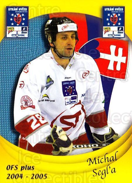 2004-05 Czech OFS Czech/Slovak AS Game #40 Michal Segla<br/>1 In Stock - $2.00 each - <a href=https://centericecollectibles.foxycart.com/cart?name=2004-05%20Czech%20OFS%20Czech/Slovak%20AS%20Game%20%2340%20Michal%20Segla...&quantity_max=1&price=$2.00&code=165274 class=foxycart> Buy it now! </a>