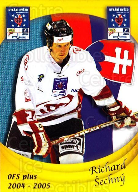 2004-05 Czech OFS Czech/Slovak AS Game #41 Richard Sechny<br/>2 In Stock - $2.00 each - <a href=https://centericecollectibles.foxycart.com/cart?name=2004-05%20Czech%20OFS%20Czech/Slovak%20AS%20Game%20%2341%20Richard%20Sechny...&quantity_max=2&price=$2.00&code=165275 class=foxycart> Buy it now! </a>