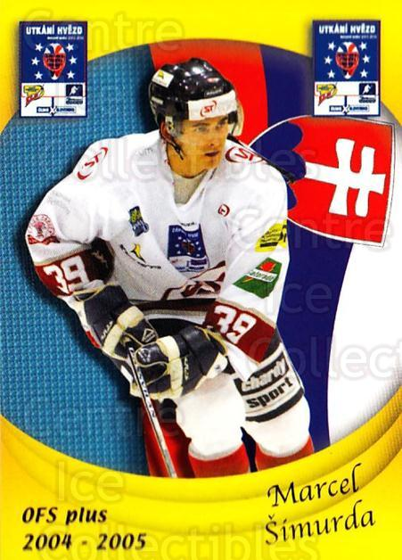 2004-05 Czech OFS Czech/Slovak AS Game #42 Marcel Simurda<br/>4 In Stock - $2.00 each - <a href=https://centericecollectibles.foxycart.com/cart?name=2004-05%20Czech%20OFS%20Czech/Slovak%20AS%20Game%20%2342%20Marcel%20Simurda...&quantity_max=4&price=$2.00&code=165276 class=foxycart> Buy it now! </a>