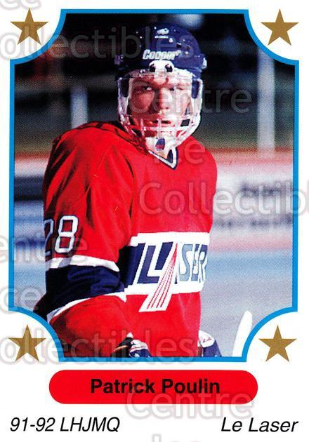 1991-92 7th Inning Sketch QMJHL #10 Patrick Poulin<br/>5 In Stock - $1.00 each - <a href=https://centericecollectibles.foxycart.com/cart?name=1991-92%207th%20Inning%20Sketch%20QMJHL%20%2310%20Patrick%20Poulin...&price=$1.00&code=16530 class=foxycart> Buy it now! </a>