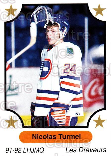1991-92 7th Inning Sketch QMJHL #114 Nicolas Turmel<br/>1 In Stock - $1.00 each - <a href=https://centericecollectibles.foxycart.com/cart?name=1991-92%207th%20Inning%20Sketch%20QMJHL%20%23114%20Nicolas%20Turmel...&quantity_max=1&price=$1.00&code=16546 class=foxycart> Buy it now! </a>