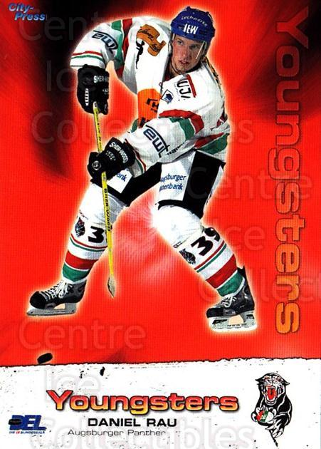 2004-05 German DEL #41 Daniel Rau<br/>3 In Stock - $2.00 each - <a href=https://centericecollectibles.foxycart.com/cart?name=2004-05%20German%20DEL%20%2341%20Daniel%20Rau...&quantity_max=3&price=$2.00&code=165554 class=foxycart> Buy it now! </a>