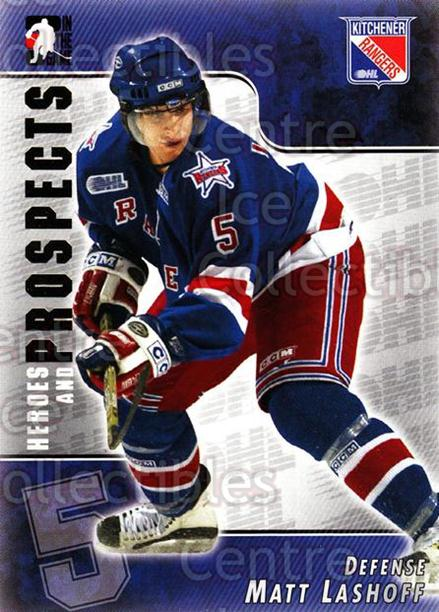 2004-05 ITG Heroes and Prospects #93 Matt Lashoff<br/>15 In Stock - $1.00 each - <a href=https://centericecollectibles.foxycart.com/cart?name=2004-05%20ITG%20Heroes%20and%20Prospects%20%2393%20Matt%20Lashoff...&quantity_max=15&price=$1.00&code=165619 class=foxycart> Buy it now! </a>