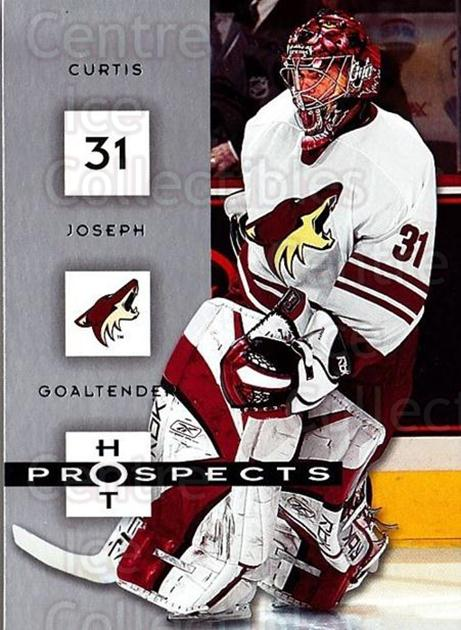 2005-06 Hot Prospects #75 Curtis Joseph<br/>4 In Stock - $1.00 each - <a href=https://centericecollectibles.foxycart.com/cart?name=2005-06%20Hot%20Prospects%20%2375%20Curtis%20Joseph...&quantity_max=4&price=$1.00&code=166008 class=foxycart> Buy it now! </a>