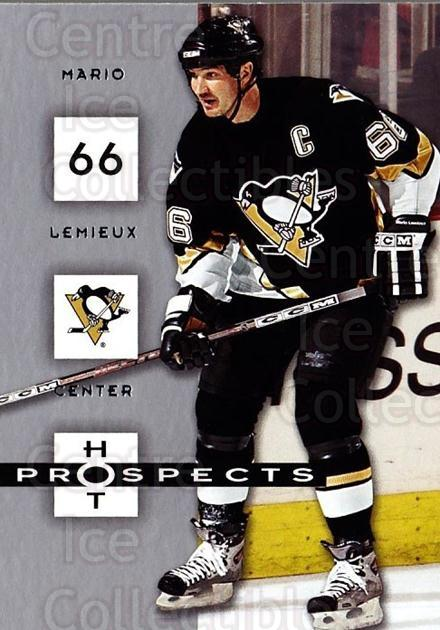 2005-06 Hot Prospects #78 Mario Lemieux<br/>2 In Stock - $2.00 each - <a href=https://centericecollectibles.foxycart.com/cart?name=2005-06%20Hot%20Prospects%20%2378%20Mario%20Lemieux...&quantity_max=2&price=$2.00&code=166011 class=foxycart> Buy it now! </a>
