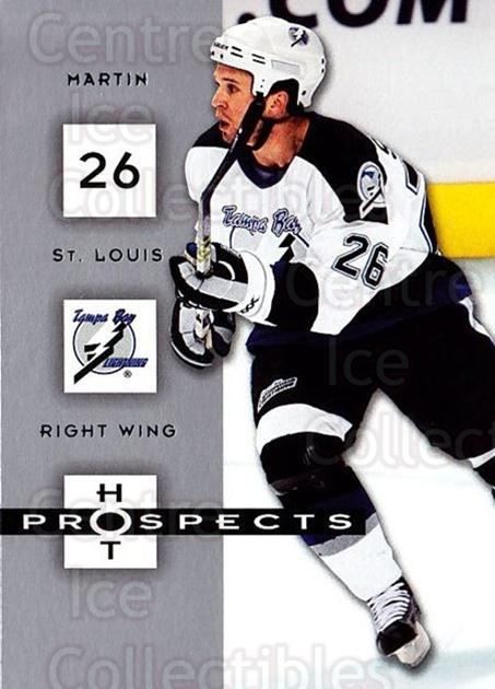 2005-06 Hot Prospects #91 Martin St. Louis<br/>6 In Stock - $1.00 each - <a href=https://centericecollectibles.foxycart.com/cart?name=2005-06%20Hot%20Prospects%20%2391%20Martin%20St.%20Loui...&quantity_max=6&price=$1.00&code=166026 class=foxycart> Buy it now! </a>