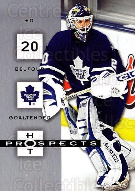 2005-06 Hot Prospects #93 Ed Belfour<br/>5 In Stock - $1.00 each - <a href=https://centericecollectibles.foxycart.com/cart?name=2005-06%20Hot%20Prospects%20%2393%20Ed%20Belfour...&quantity_max=5&price=$1.00&code=166028 class=foxycart> Buy it now! </a>