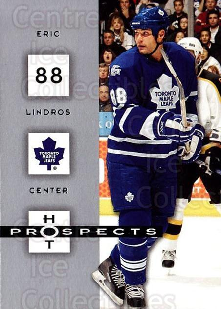 2005-06 Hot Prospects #95 Eric Lindros<br/>6 In Stock - $1.00 each - <a href=https://centericecollectibles.foxycart.com/cart?name=2005-06%20Hot%20Prospects%20%2395%20Eric%20Lindros...&quantity_max=6&price=$1.00&code=166030 class=foxycart> Buy it now! </a>