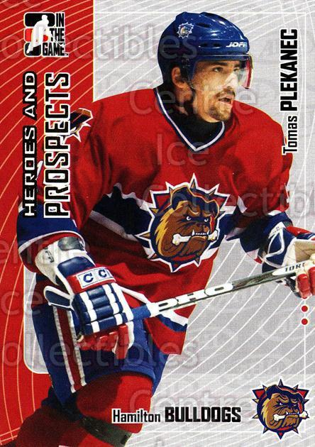2005-06 ITG Heroes and Prospects #263 Tomas Plekanec<br/>5 In Stock - $1.00 each - <a href=https://centericecollectibles.foxycart.com/cart?name=2005-06%20ITG%20Heroes%20and%20Prospects%20%23263%20Tomas%20Plekanec...&quantity_max=5&price=$1.00&code=166265 class=foxycart> Buy it now! </a>