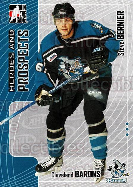 2005-06 ITG Heroes and Prospects #265 Steve Bernier<br/>7 In Stock - $1.00 each - <a href=https://centericecollectibles.foxycart.com/cart?name=2005-06%20ITG%20Heroes%20and%20Prospects%20%23265%20Steve%20Bernier...&price=$1.00&code=166267 class=foxycart> Buy it now! </a>