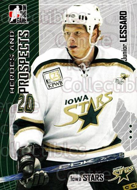 2005-06 ITG Heroes and Prospects #271 Junior Lessard<br/>9 In Stock - $1.00 each - <a href=https://centericecollectibles.foxycart.com/cart?name=2005-06%20ITG%20Heroes%20and%20Prospects%20%23271%20Junior%20Lessard...&price=$1.00&code=166274 class=foxycart> Buy it now! </a>
