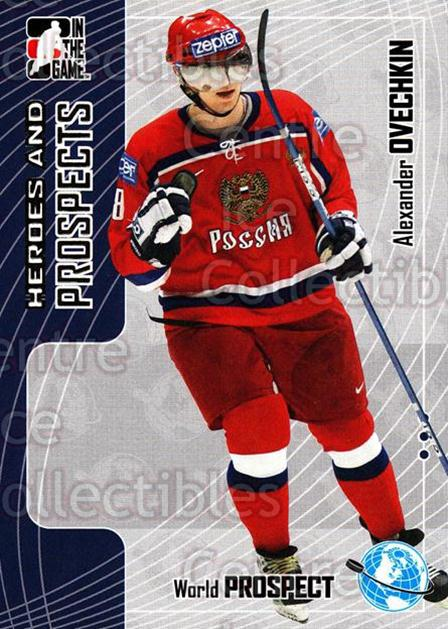 2005-06 ITG Heroes and Prospects #279 Alexander Ovechkin<br/>130 In Stock - $2.00 each - <a href=https://centericecollectibles.foxycart.com/cart?name=2005-06%20ITG%20Heroes%20and%20Prospects%20%23279%20Alexander%20Ovech...&price=$2.00&code=166282 class=foxycart> Buy it now! </a>