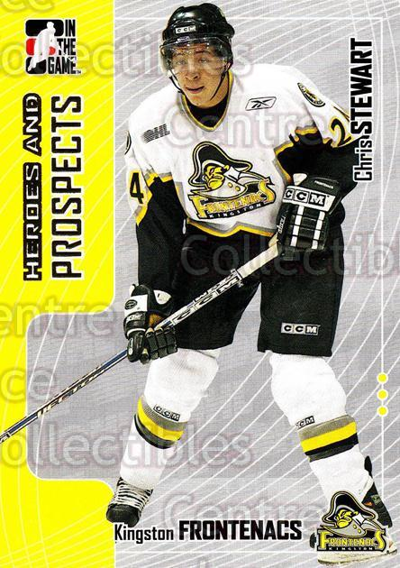 2005-06 ITG Heroes and Prospects #281 Chris Stewart<br/>6 In Stock - $1.00 each - <a href=https://centericecollectibles.foxycart.com/cart?name=2005-06%20ITG%20Heroes%20and%20Prospects%20%23281%20Chris%20Stewart...&price=$1.00&code=166285 class=foxycart> Buy it now! </a>