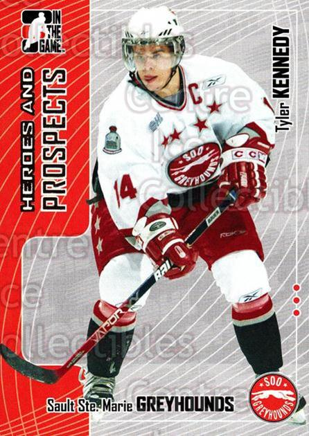2005-06 ITG Heroes and Prospects #284 Tyler Kennedy<br/>5 In Stock - $1.00 each - <a href=https://centericecollectibles.foxycart.com/cart?name=2005-06%20ITG%20Heroes%20and%20Prospects%20%23284%20Tyler%20Kennedy...&price=$1.00&code=166288 class=foxycart> Buy it now! </a>