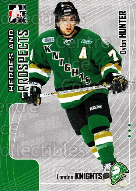 2005-06 ITG Heroes and Prospects #285 Dylan Hunter<br/>6 In Stock - $1.00 each - <a href=https://centericecollectibles.foxycart.com/cart?name=2005-06%20ITG%20Heroes%20and%20Prospects%20%23285%20Dylan%20Hunter...&price=$1.00&code=166289 class=foxycart> Buy it now! </a>