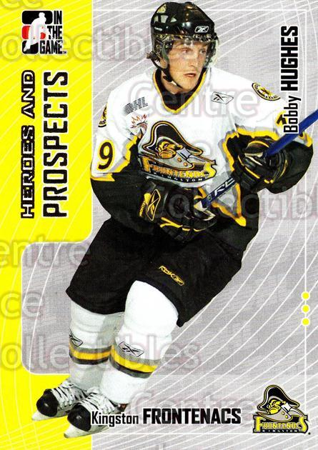 2005-06 ITG Heroes and Prospects #295 Bobby Hughes<br/>8 In Stock - $1.00 each - <a href=https://centericecollectibles.foxycart.com/cart?name=2005-06%20ITG%20Heroes%20and%20Prospects%20%23295%20Bobby%20Hughes...&price=$1.00&code=166300 class=foxycart> Buy it now! </a>