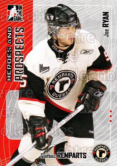 2005-06 ITG Heroes and Prospects #299 Joe Ryan<br/>8 In Stock - $1.00 each - <a href=https://centericecollectibles.foxycart.com/cart?name=2005-06%20ITG%20Heroes%20and%20Prospects%20%23299%20Joe%20Ryan...&price=$1.00&code=166305 class=foxycart> Buy it now! </a>