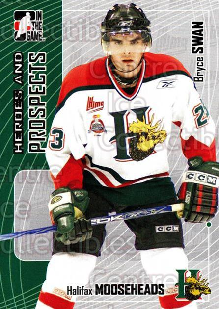 2005-06 ITG Heroes and Prospects #310 Bryce Swan<br/>7 In Stock - $1.00 each - <a href=https://centericecollectibles.foxycart.com/cart?name=2005-06%20ITG%20Heroes%20and%20Prospects%20%23310%20Bryce%20Swan...&price=$1.00&code=166319 class=foxycart> Buy it now! </a>