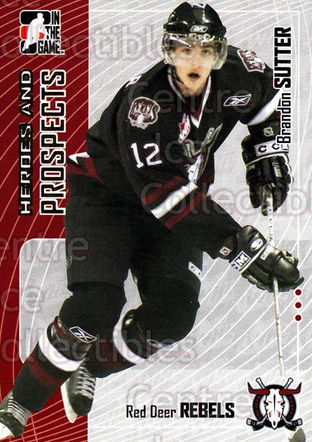 2005-06 ITG Heroes and Prospects #314 Brandon Sutter<br/>107 In Stock - $1.00 each - <a href=https://centericecollectibles.foxycart.com/cart?name=2005-06%20ITG%20Heroes%20and%20Prospects%20%23314%20Brandon%20Sutter...&price=$1.00&code=166323 class=foxycart> Buy it now! </a>