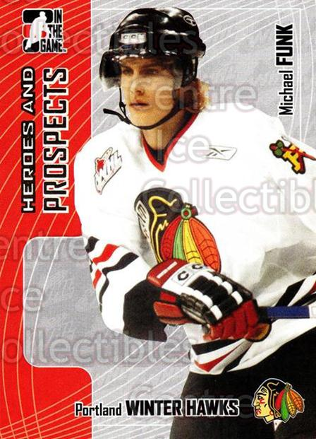 2005-06 ITG Heroes and Prospects #320 Michael Funk<br/>8 In Stock - $1.00 each - <a href=https://centericecollectibles.foxycart.com/cart?name=2005-06%20ITG%20Heroes%20and%20Prospects%20%23320%20Michael%20Funk...&price=$1.00&code=166330 class=foxycart> Buy it now! </a>