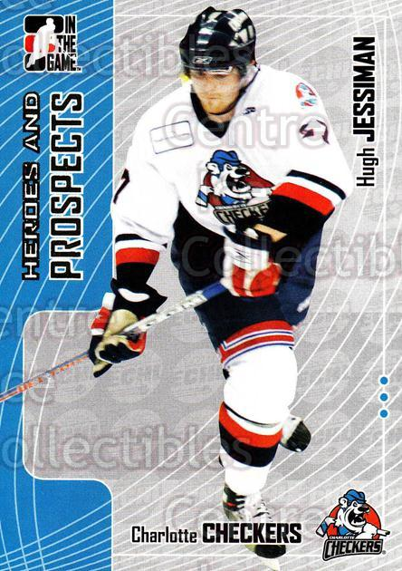 2005-06 ITG Heroes and Prospects #351 Hugh Jessiman<br/>4 In Stock - $1.00 each - <a href=https://centericecollectibles.foxycart.com/cart?name=2005-06%20ITG%20Heroes%20and%20Prospects%20%23351%20Hugh%20Jessiman...&price=$1.00&code=166360 class=foxycart> Buy it now! </a>
