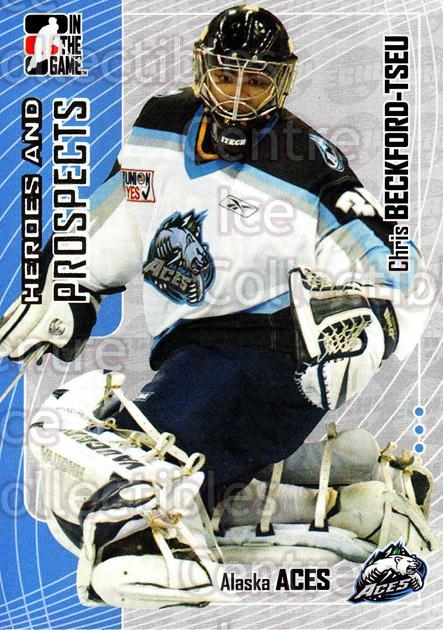 2005-06 ITG Heroes and Prospects #352 Chris Beckford-Tsue<br/>1 In Stock - $1.00 each - <a href=https://centericecollectibles.foxycart.com/cart?name=2005-06%20ITG%20Heroes%20and%20Prospects%20%23352%20Chris%20Beckford-...&price=$1.00&code=166361 class=foxycart> Buy it now! </a>