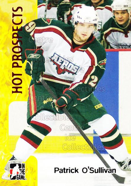 2005-06 ITG Heroes and Prospects #375 Patrick O'Sullivan<br/>23 In Stock - $1.00 each - <a href=https://centericecollectibles.foxycart.com/cart?name=2005-06%20ITG%20Heroes%20and%20Prospects%20%23375%20Patrick%20O'Sulli...&price=$1.00&code=166380 class=foxycart> Buy it now! </a>