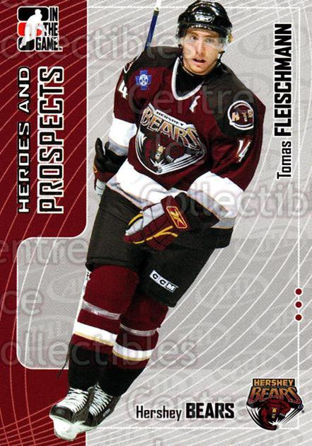 2005-06 ITG Heroes and Prospects #385 Tomas Fleischmann<br/>22 In Stock - $1.00 each - <a href=https://centericecollectibles.foxycart.com/cart?name=2005-06%20ITG%20Heroes%20and%20Prospects%20%23385%20Tomas%20Fleischma...&quantity_max=22&price=$1.00&code=166391 class=foxycart> Buy it now! </a>