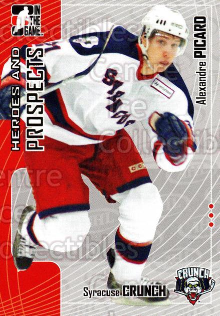 2005-06 ITG Heroes and Prospects #386 Alexandre Picard<br/>23 In Stock - $1.00 each - <a href=https://centericecollectibles.foxycart.com/cart?name=2005-06%20ITG%20Heroes%20and%20Prospects%20%23386%20Alexandre%20Picar...&price=$1.00&code=166392 class=foxycart> Buy it now! </a>