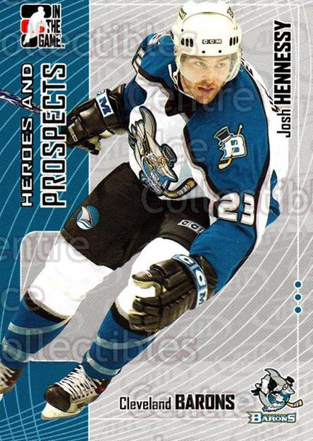 2005-06 ITG Heroes and Prospects #388 Josh Hennessy<br/>22 In Stock - $1.00 each - <a href=https://centericecollectibles.foxycart.com/cart?name=2005-06%20ITG%20Heroes%20and%20Prospects%20%23388%20Josh%20Hennessy...&price=$1.00&code=166394 class=foxycart> Buy it now! </a>