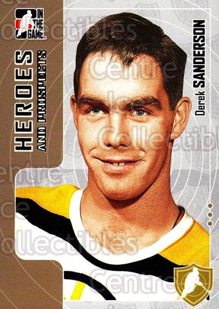 2005-06 ITG Heroes and Prospects #39 Derek Sanderson<br/>19 In Stock - $1.00 each - <a href=https://centericecollectibles.foxycart.com/cart?name=2005-06%20ITG%20Heroes%20and%20Prospects%20%2339%20Derek%20Sanderson...&price=$1.00&code=166396 class=foxycart> Buy it now! </a>