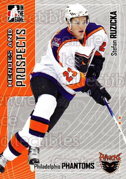 2005-06 ITG Heroes and Prospects #395 Stefan Ruzicka<br/>24 In Stock - $1.00 each - <a href=https://centericecollectibles.foxycart.com/cart?name=2005-06%20ITG%20Heroes%20and%20Prospects%20%23395%20Stefan%20Ruzicka...&price=$1.00&code=166401 class=foxycart> Buy it now! </a>