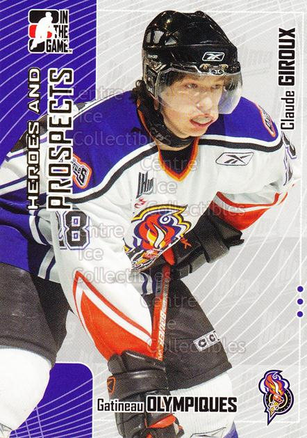 2005-06 ITG Heroes and Prospects #413 Claude Giroux<br/>16 In Stock - $3.00 each - <a href=https://centericecollectibles.foxycart.com/cart?name=2005-06%20ITG%20Heroes%20and%20Prospects%20%23413%20Claude%20Giroux...&price=$3.00&code=166420 class=foxycart> Buy it now! </a>