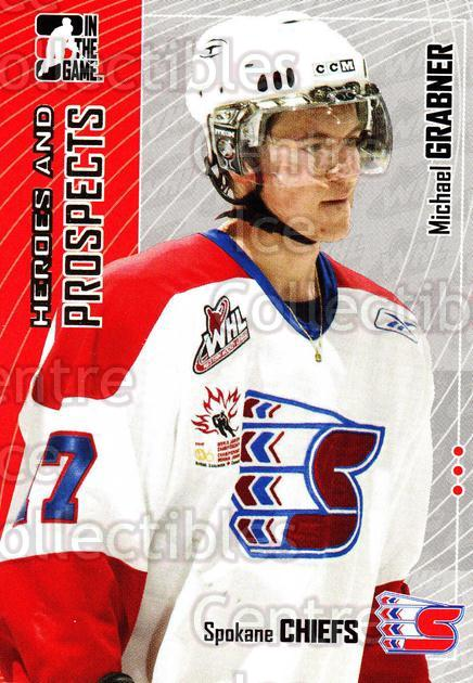 2005-06 ITG Heroes and Prospects #419 Michael Grabner<br/>18 In Stock - $1.00 each - <a href=https://centericecollectibles.foxycart.com/cart?name=2005-06%20ITG%20Heroes%20and%20Prospects%20%23419%20Michael%20Grabner...&price=$1.00&code=166426 class=foxycart> Buy it now! </a>