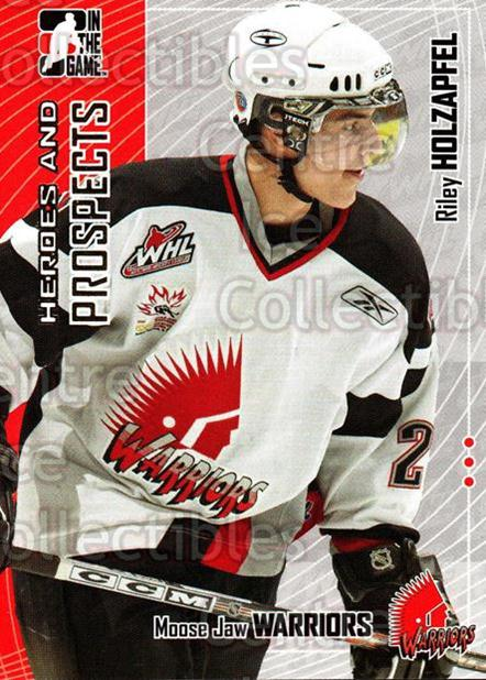 2005-06 ITG Heroes and Prospects #420 Riley Holzapfel<br/>15 In Stock - $1.00 each - <a href=https://centericecollectibles.foxycart.com/cart?name=2005-06%20ITG%20Heroes%20and%20Prospects%20%23420%20Riley%20Holzapfel...&price=$1.00&code=166428 class=foxycart> Buy it now! </a>