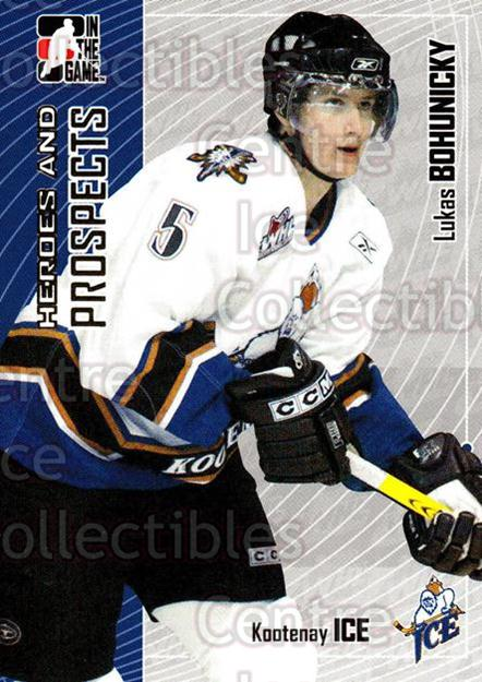 2005-06 ITG Heroes and Prospects #421 Lukas Bohunicky<br/>24 In Stock - $1.00 each - <a href=https://centericecollectibles.foxycart.com/cart?name=2005-06%20ITG%20Heroes%20and%20Prospects%20%23421%20Lukas%20Bohunicky...&price=$1.00&code=166429 class=foxycart> Buy it now! </a>