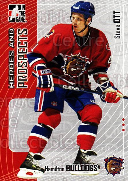 2005-06 ITG Heroes and Prospects #43 Steve Ott<br/>19 In Stock - $1.00 each - <a href=https://centericecollectibles.foxycart.com/cart?name=2005-06%20ITG%20Heroes%20and%20Prospects%20%2343%20Steve%20Ott...&price=$1.00&code=166438 class=foxycart> Buy it now! </a>