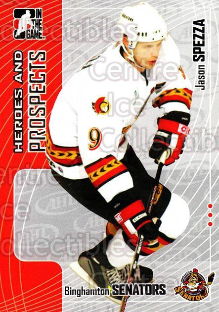 2005-06 ITG Heroes and Prospects #46 Jason Spezza<br/>19 In Stock - $1.00 each - <a href=https://centericecollectibles.foxycart.com/cart?name=2005-06%20ITG%20Heroes%20and%20Prospects%20%2346%20Jason%20Spezza...&price=$1.00&code=166442 class=foxycart> Buy it now! </a>