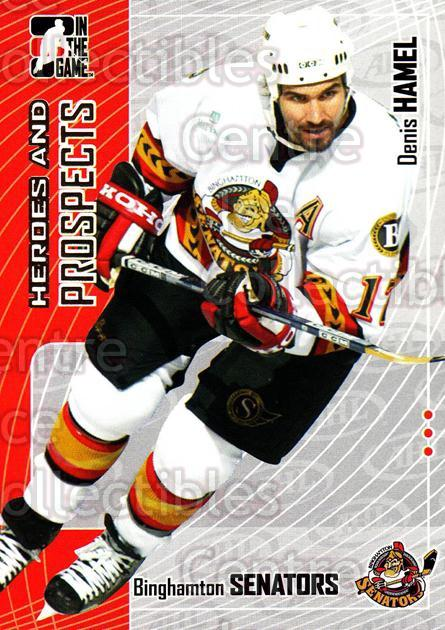 2005-06 ITG Heroes and Prospects #52 Denis Hamel<br/>18 In Stock - $1.00 each - <a href=https://centericecollectibles.foxycart.com/cart?name=2005-06%20ITG%20Heroes%20and%20Prospects%20%2352%20Denis%20Hamel...&price=$1.00&code=166448 class=foxycart> Buy it now! </a>