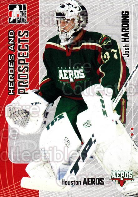 2005-06 ITG Heroes and Prospects #55 Josh Harding<br/>18 In Stock - $1.00 each - <a href=https://centericecollectibles.foxycart.com/cart?name=2005-06%20ITG%20Heroes%20and%20Prospects%20%2355%20Josh%20Harding...&price=$1.00&code=166451 class=foxycart> Buy it now! </a>