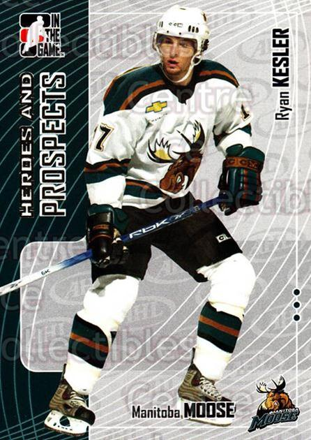 2005-06 ITG Heroes and Prospects #64 Ryan Kesler<br/>18 In Stock - $1.00 each - <a href=https://centericecollectibles.foxycart.com/cart?name=2005-06%20ITG%20Heroes%20and%20Prospects%20%2364%20Ryan%20Kesler...&price=$1.00&code=166459 class=foxycart> Buy it now! </a>
