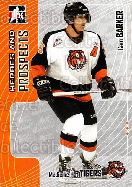 2005-06 ITG Heroes and Prospects #65 Cam Barker<br/>17 In Stock - $1.00 each - <a href=https://centericecollectibles.foxycart.com/cart?name=2005-06%20ITG%20Heroes%20and%20Prospects%20%2365%20Cam%20Barker...&quantity_max=17&price=$1.00&code=166460 class=foxycart> Buy it now! </a>