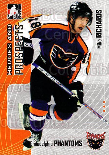 2005-06 ITG Heroes and Prospects #69 Mike Richards<br/>18 In Stock - $1.00 each - <a href=https://centericecollectibles.foxycart.com/cart?name=2005-06%20ITG%20Heroes%20and%20Prospects%20%2369%20Mike%20Richards...&price=$1.00&code=166464 class=foxycart> Buy it now! </a>