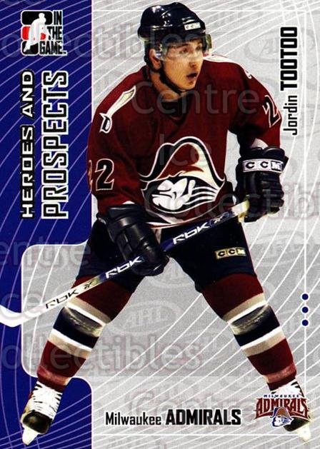 2005-06 ITG Heroes and Prospects #75 Jordin Tootoo<br/>18 In Stock - $1.00 each - <a href=https://centericecollectibles.foxycart.com/cart?name=2005-06%20ITG%20Heroes%20and%20Prospects%20%2375%20Jordin%20Tootoo...&price=$1.00&code=166471 class=foxycart> Buy it now! </a>