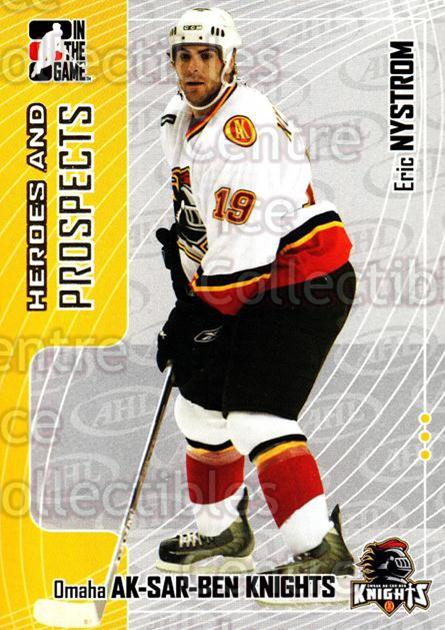 2005-06 ITG Heroes and Prospects #79 Eric Nystrom<br/>17 In Stock - $1.00 each - <a href=https://centericecollectibles.foxycart.com/cart?name=2005-06%20ITG%20Heroes%20and%20Prospects%20%2379%20Eric%20Nystrom...&price=$1.00&code=166475 class=foxycart> Buy it now! </a>