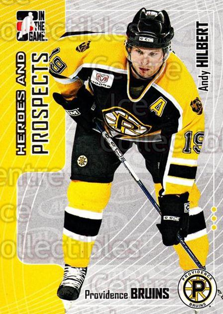 2005-06 ITG Heroes and Prospects #87 Andy Hilbert<br/>19 In Stock - $1.00 each - <a href=https://centericecollectibles.foxycart.com/cart?name=2005-06%20ITG%20Heroes%20and%20Prospects%20%2387%20Andy%20Hilbert...&price=$1.00&code=166483 class=foxycart> Buy it now! </a>