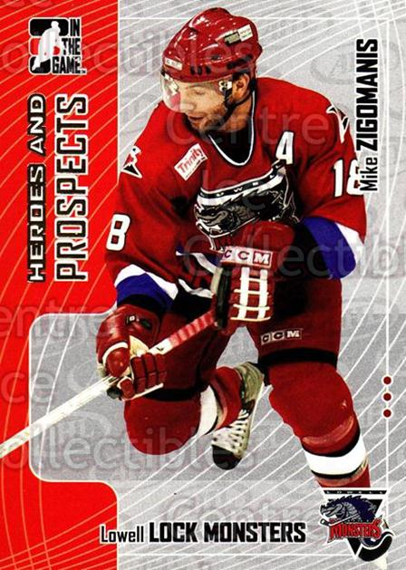 2005-06 ITG Heroes and Prospects #98 Michael Zigomanis<br/>20 In Stock - $1.00 each - <a href=https://centericecollectibles.foxycart.com/cart?name=2005-06%20ITG%20Heroes%20and%20Prospects%20%2398%20Michael%20Zigoman...&price=$1.00&code=166495 class=foxycart> Buy it now! </a>